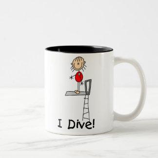 Diver Girl Mug