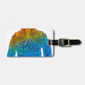Diver Luggage Tag