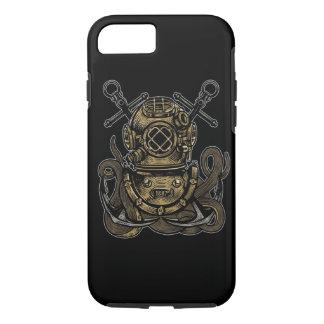 Diver Octopus Tough Phone Case