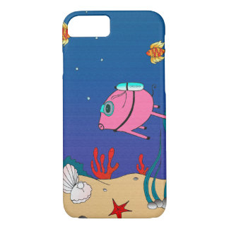 Diver PiGgy! iPhone 7 Case