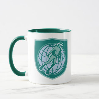 Divers brew time mug