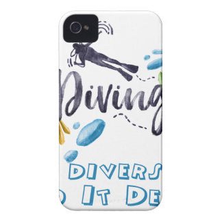 divers do it deeper iPhone 4 covers