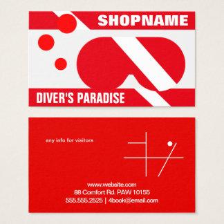 DIVER'S PARADISE BUSINESS CARD