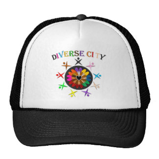 Diverse City Trucker Hat