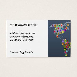 Diverse World Business Card