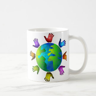 Diverse World Classic White Coffee Mug
