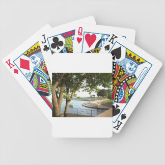 Diversey Harbor Chicago Lakefront 1970's Bicycle Playing Cards