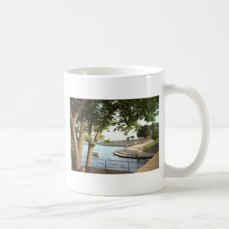 Diversey Harbor Chicago Lakefront 1970's Coffee Mug