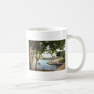 Diversey Harbor Chicago Lakefront 1970's Coffee Mug