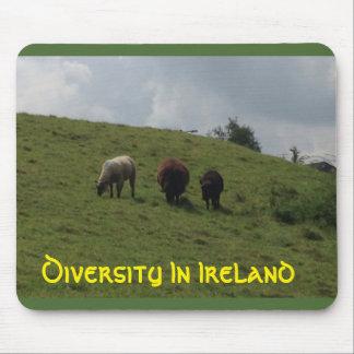 Diversité dans l'Irlandais de l'Irlande Mousepad Tapis De Souris
