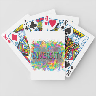 Diversity. Bicycle Playing Cards
