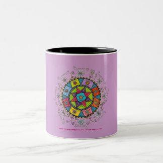 Diversity - Black Two Tone Mug (lavender)