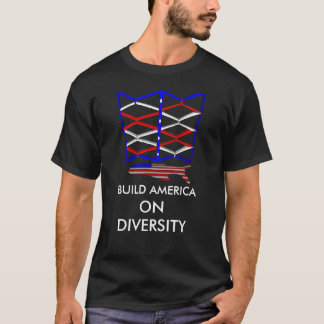 Diversity Build America Men's Basic T-Shirt