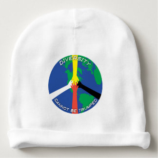 Diversity Cannot Be Trumped - Baby Beanie