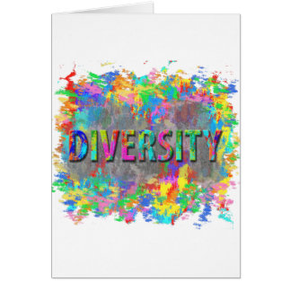 Diversity. Card