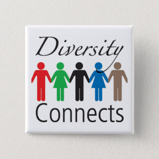 Diversity Connects Square Button