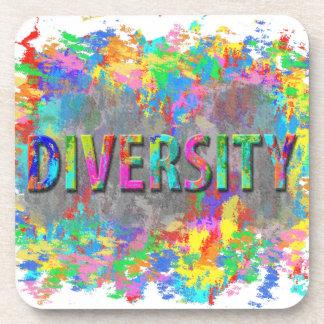 Diversity. Drink Coaster