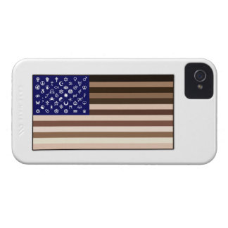 Diversity Flag iPhone 4 Case-Mate Cases