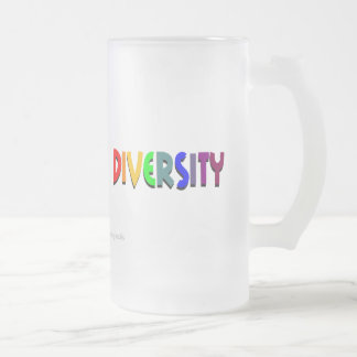 Diversity Frosted Mug (right style)