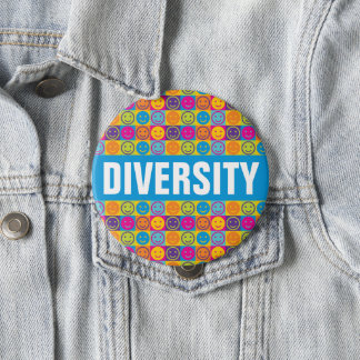 DIVERSITY Human Rights Button