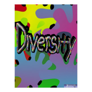 Diversity in Words Poster