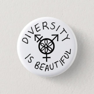 Diversity is Beautiful 1 Inch Round Button
