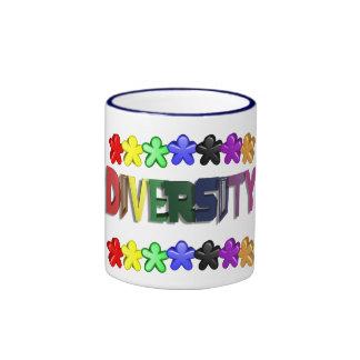 Diversity Lil People Coffee Ringer Coffee Mug