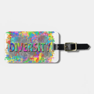 Diversity. Luggage Tag