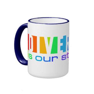 Diversity mug - choose style & color