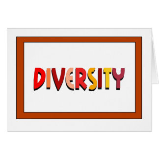 Diversity Note Card