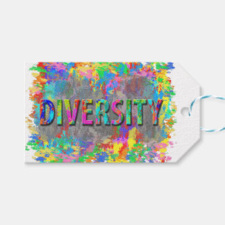 Diversity. Pack Of Gift Tags