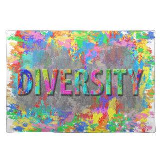 Diversity. Placemat