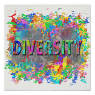 Diversity. Poster
