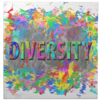 Diversity. Printed Napkins