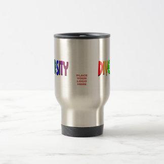 Diversity Rainbow Custom Travel Mug