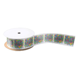 Diversity. Satin Ribbon