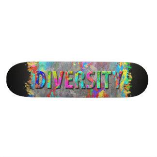 Diversity. Skateboard Deck