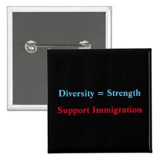 diversity=strength 2 inch square button