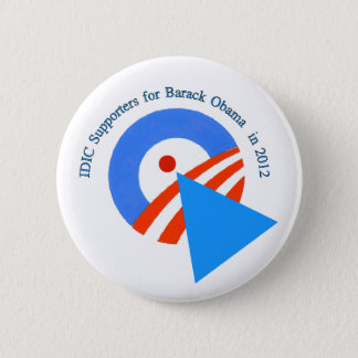 Diversity Supporters for Obama 2 Inch Round Button