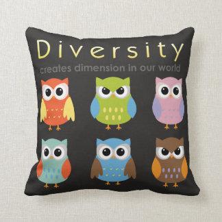 Diversity Throw Pillow For Children