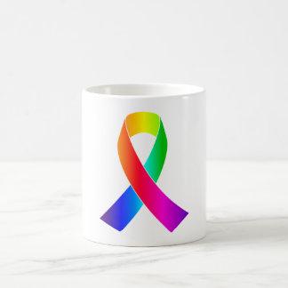 Diversity Tolerance Pride Awareness Ribbon Coffee Mug