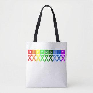Diversity United Colorful Symbol Tote Bag