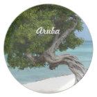 Divi Divi Tree in Aruba Plate