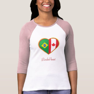 Divided heart T-Shirt