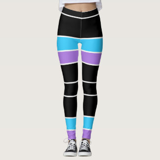 Divided Lines Leggings