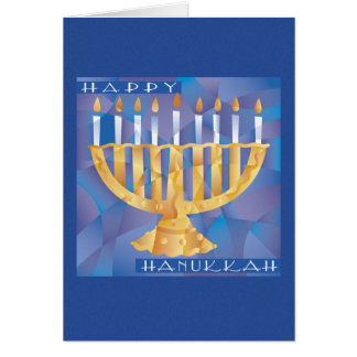 Divided Menorah Card