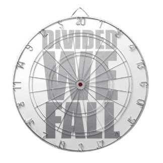 DIVIDED WE FALL DARTBOARD