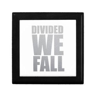 DIVIDED WE FALL GIFT BOX