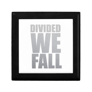 DIVIDED WE FALL JEWELRY BOX