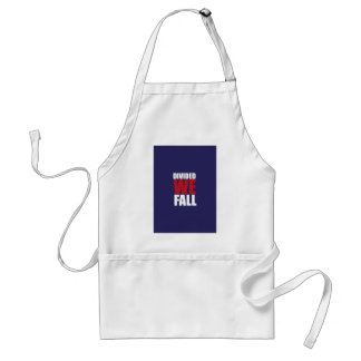 Divided We Fall Patriotism Quotes Standard Apron